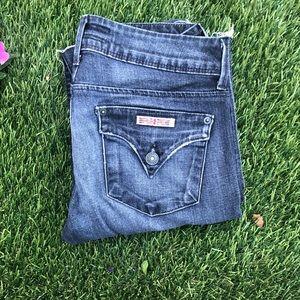 Hudson jean skinny open hem